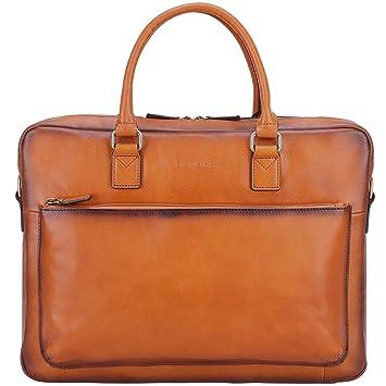 257167d6e9d0 Banuce Vintage Full Grain Italian Leather Briefcase for Men Women Business  Messenger Bag 14
