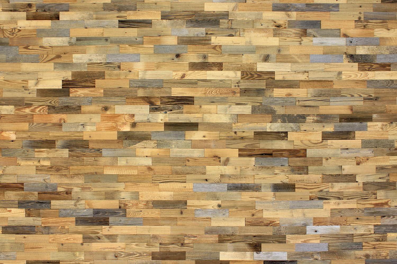wodewa Paneles de Madera Para Pared Vieja de Pino Reciclaje I 1m/² Revestimiento de Paredes 3D Panel Decorativo Madera Interior Sala de Estar Cocina Dormitorio Mural