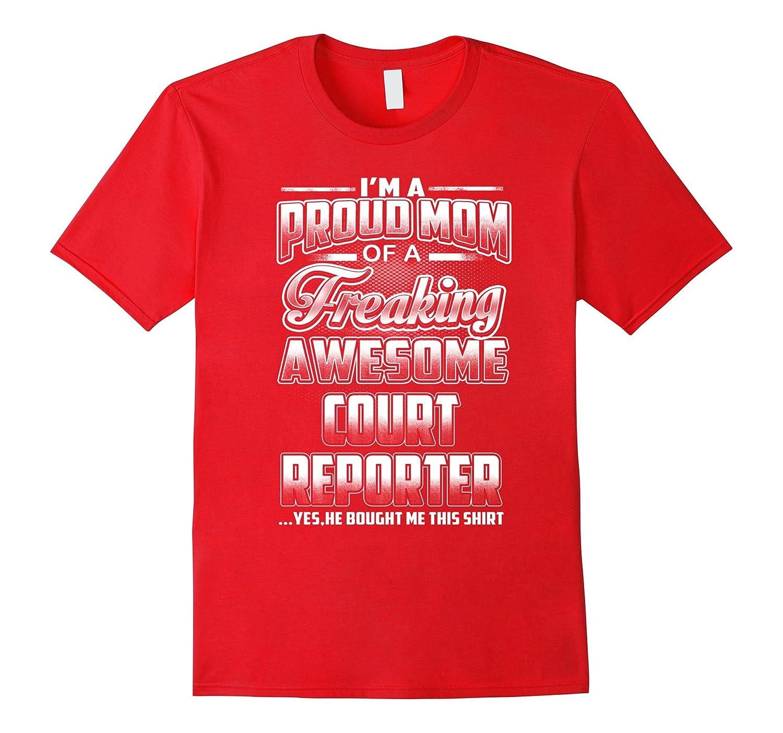 Court Reporter Mom T-shirt-Art