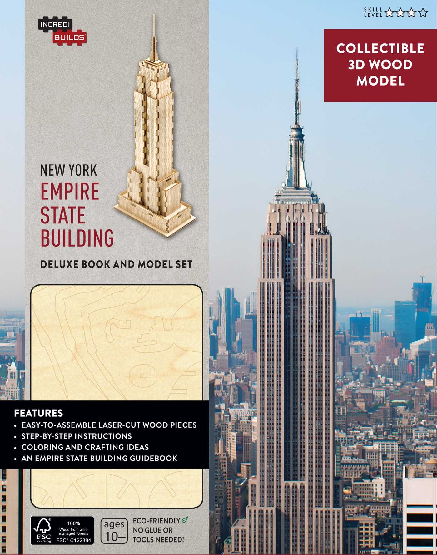 Incredibuilds New York Empire State Building Deluxe Book And Model Set Panchyk Richard 9781682980194 Amazon Com Books