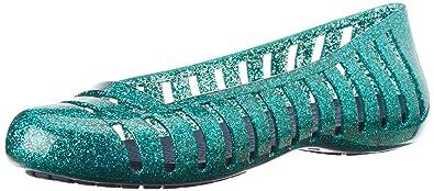 eb9f39eba12041 Crocs Adrina II Glitter Flat Shoes