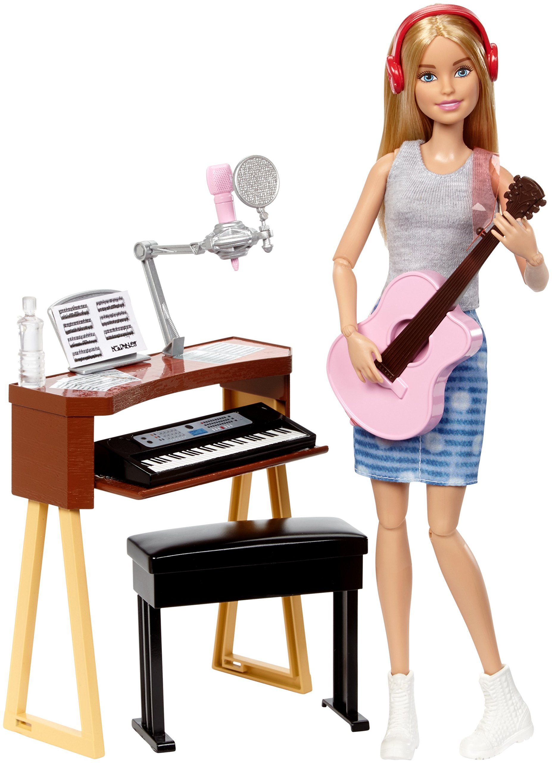 Barbie Musician Doll & Playset, Blonde