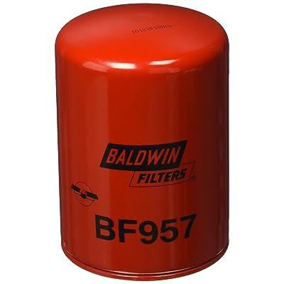 Baldwin BF957 Heavy Duty Diesel Fuel Spin-On Filter: Automotive