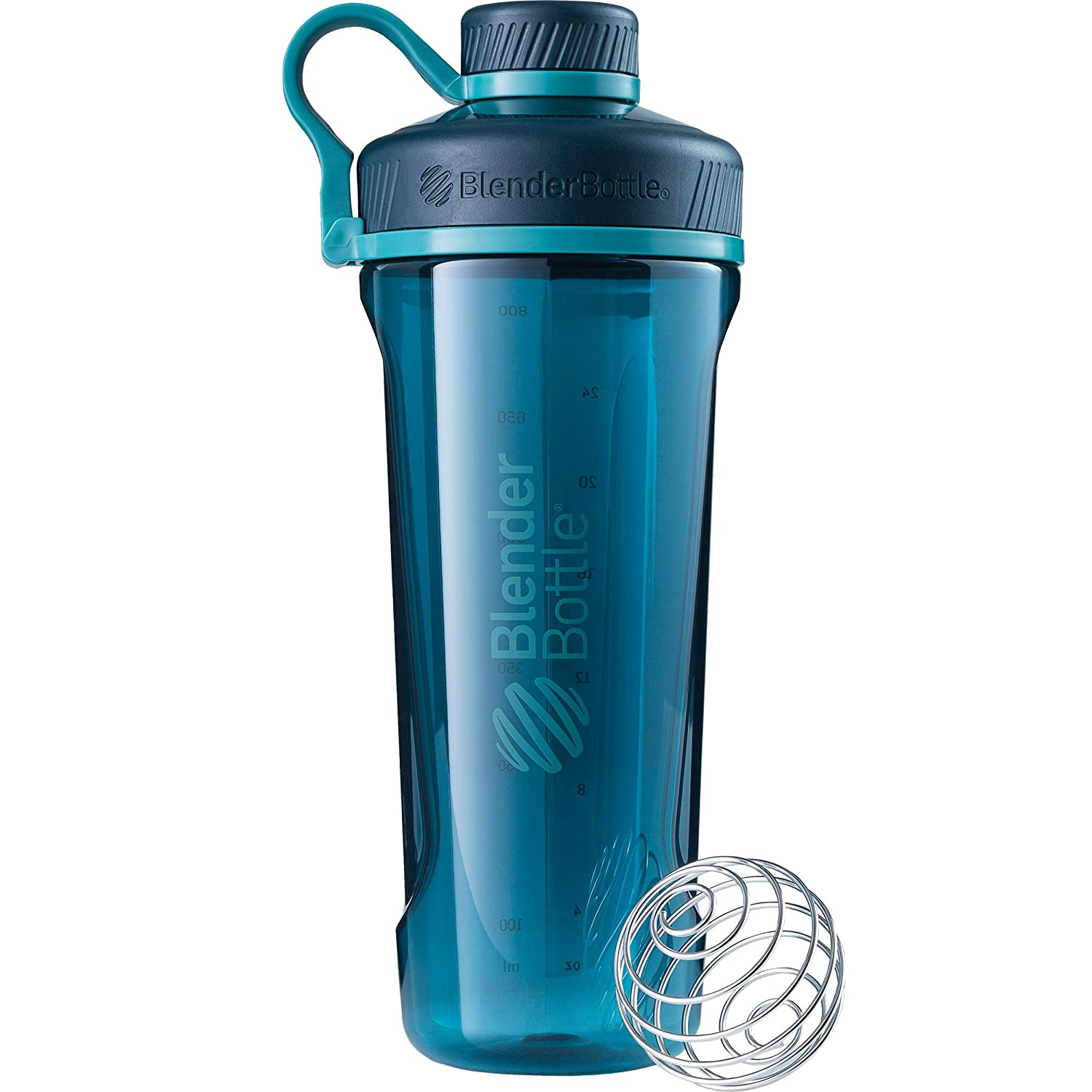 BlenderBottle Radian Tritan Shaker Bottle, Deep Sea Green, 32-Ounce