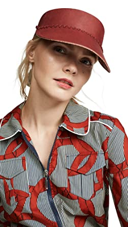 b16b125c Brixton Women's Rendon Visor, Scarlet, One Size at Amazon Women's Clothing  store: