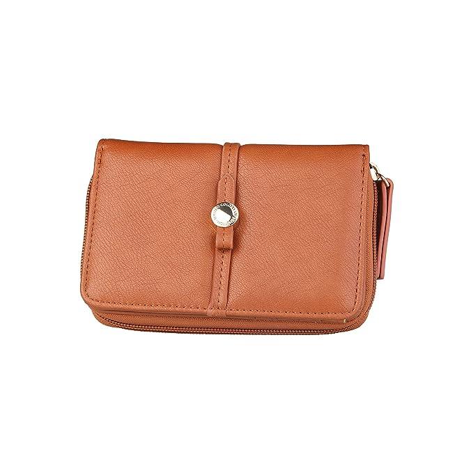 BENETTON cartera mujer 13A73761 marrón - mujer - TU: Amazon ...