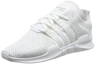 cheaper 904b2 fd8ec adidas EQT Support ADV Primeknit, Baskets Basses Homme, Blanc Footwear  WhiteSub Green