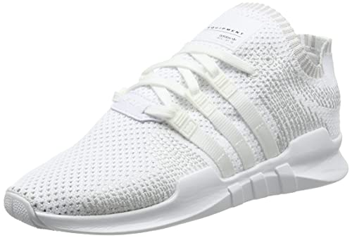 separation shoes eabd6 a114a adidas Herren EQT Support ADV Primeknit Sneakers Weiß Footwear Whitesub  Green, 41 1