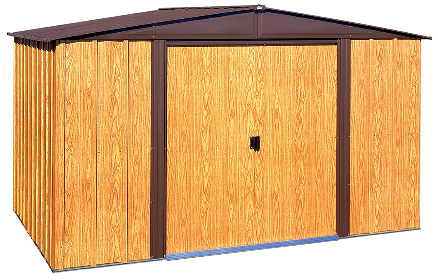 Arrow WL65 Woodlake 6-Feet by 5-Feet Steel Storage Shed Arrow Sheds Drop Ship