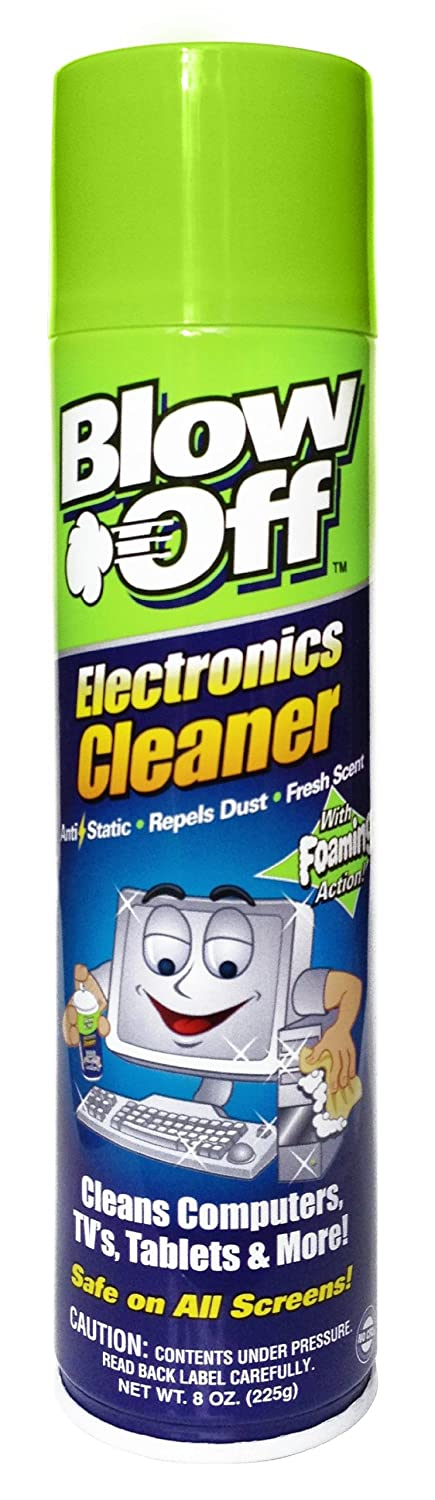 Blow Off 2222 Electronics Cleaner, 8-Ounce ELECTRONICS CLEANER 8 OZ