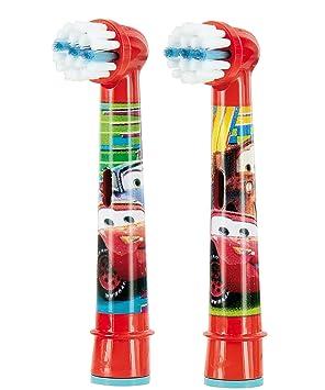 Braun Oral- B Stages Power Juego de 2 - Cabezales de cepillos de dientes para niños- Dibujo de Cars: Amazon.es: Salud y cuidado personal