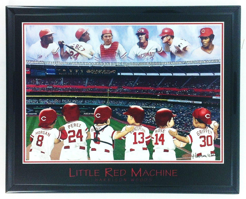 Louis Cardinals Legends: Brock Smith Gibson Wall Art Print F6652A Pujols Framed Baseball St Rolen