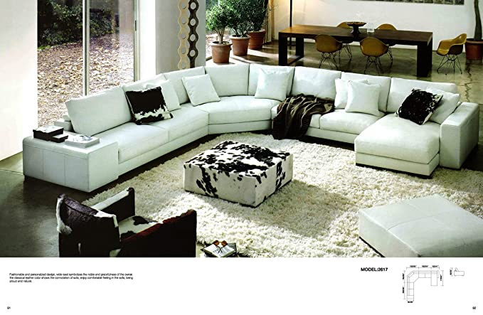 Amazon.com: My Aashis Modern Design Sofa Large L Shaped ...