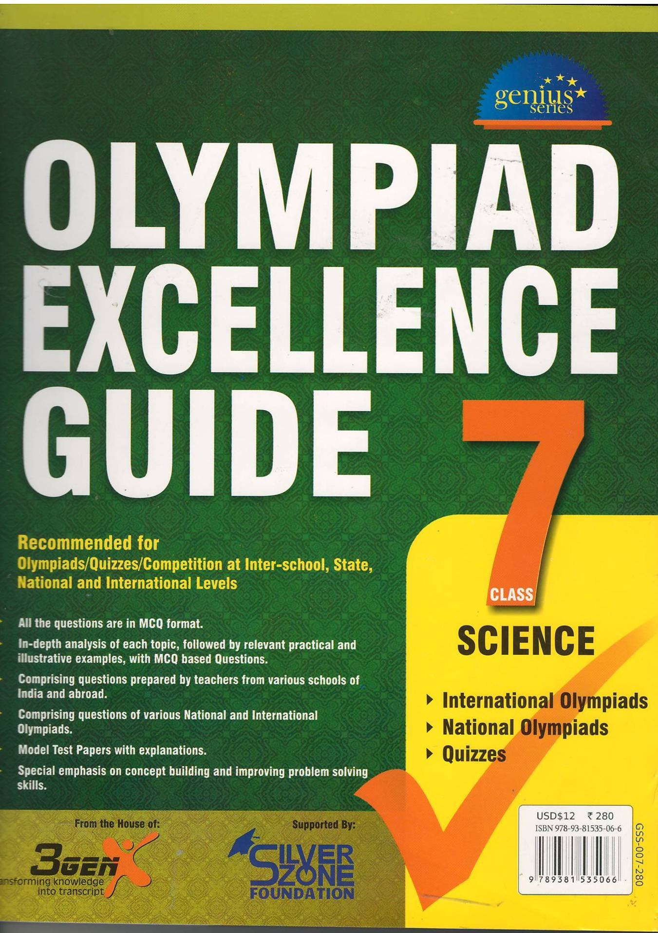 Buy Olympiad Excellence Guide for Science (Class-7) Book Online at Low  Prices in India | Olympiad Excellence Guide for Science (Class-7) Reviews &  Ratings ...