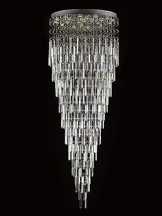 Modern contemporary chandelier rain drop chandeliers lighting with modern contemporary chandelier quotrain dropquot chandeliers lighting with crystal bars aloadofball Images