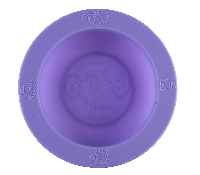 oogaa Silicone Baby Feeding Bowl Silicone - Purple by oogaa   B00IS8OWAK