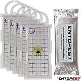 5 X New Professional Clothes Moth Trap - AF Demi, 10 X Pheromone Glue Board by Seaheaven Ltd