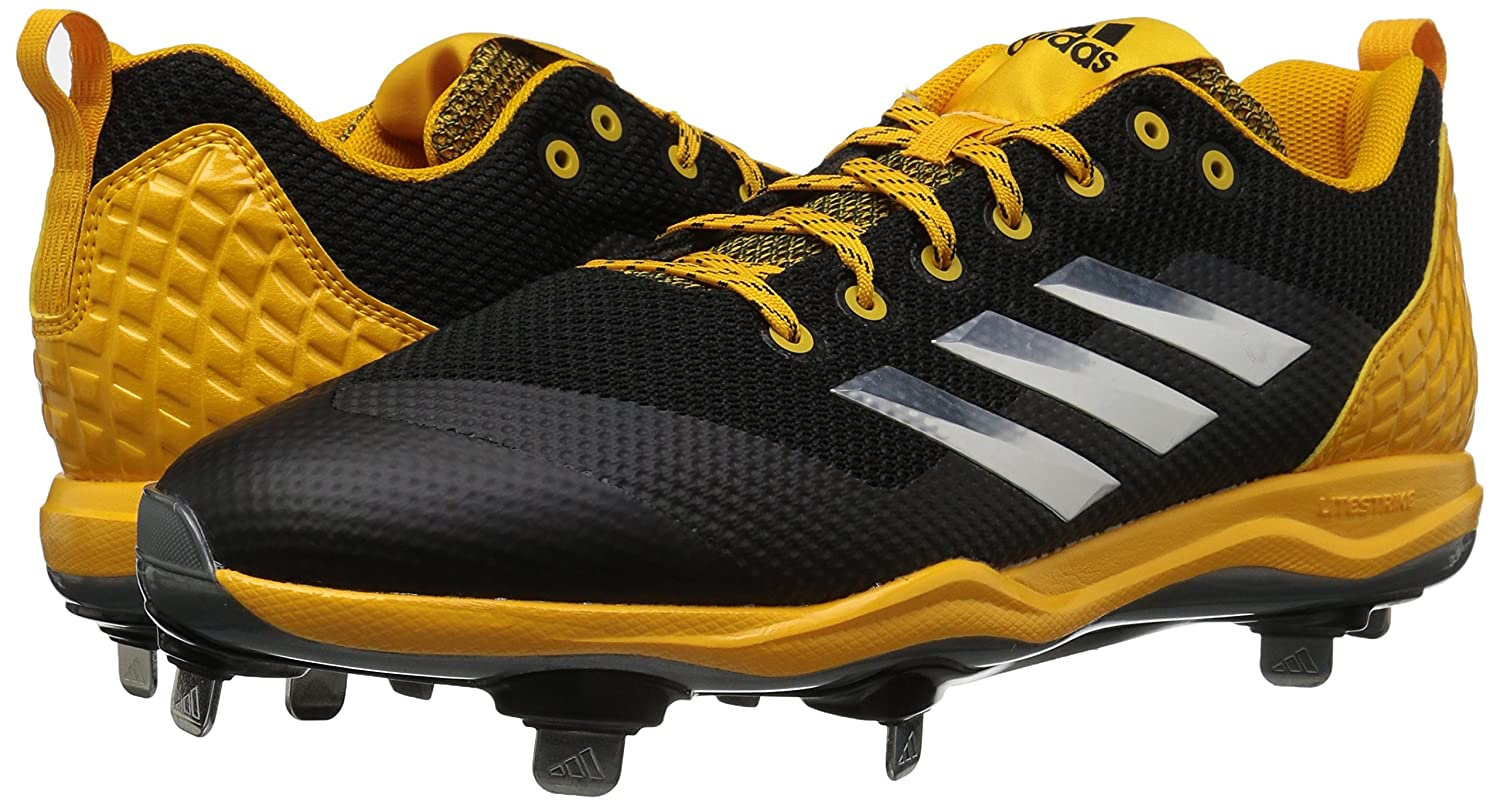 sports shoes 7680f 14b48 Amazon.com   adidas Originals Men s PowerAlley 5 Baseball Shoe   Baseball    Softball