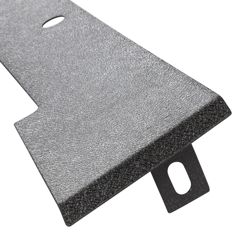 Smittybilt JB48CFT Textured Black Front Frame Cover