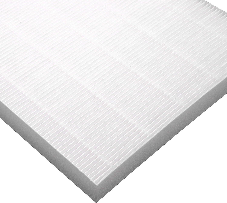vhbw filtre HEPA /à air de rechange pour humidificateur /épurateur dair comme Fellowes 9287101 blanc