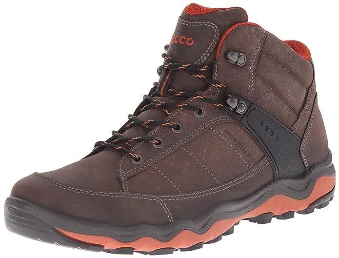 Ecco ULTERRA Men's - Zapatillas de Deporte para Exterior de Piel, Hombre, Color Marrón, Talla 41