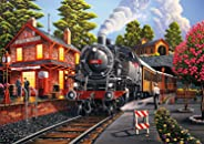Buffalo Games - Americana Collection - Bear Creek Depot - 500 Piece Jigsaw Puzzle