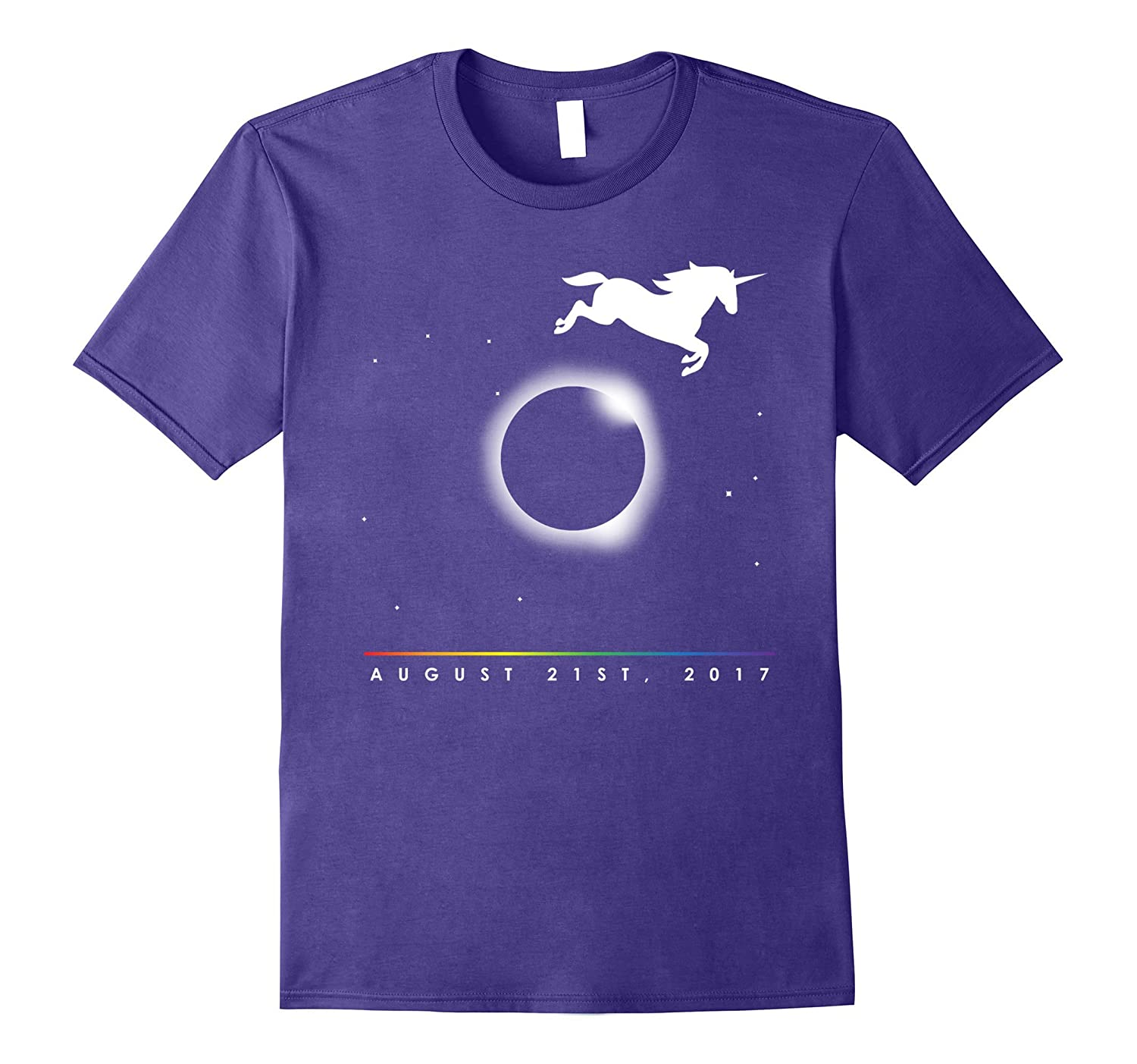 America's Magical Solar Eclipse Shirt, August 2017 Unicorn-BN