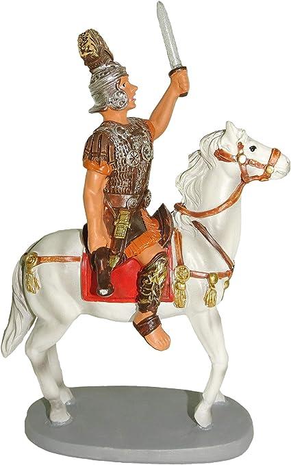 Soldato a Cavallo per presepio da cm 12 Ferrari /& Arrighetti Statuine presepe
