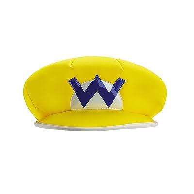 Wario Super Mario Bros. Nintendo Child Hat, One Size Child: Toys & Games