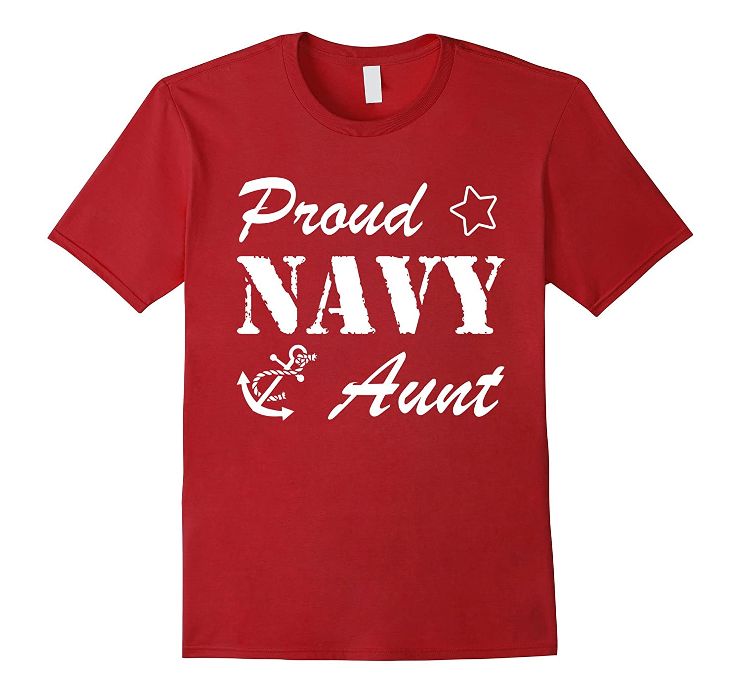 Best Gift for Army Aunt – Proud Navy Aunt T-shirt