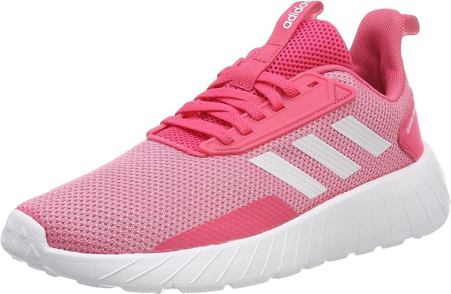 097eb75cad6f8d adidas Mädchen Questar Drive Sneaker Real Pink Footwear White