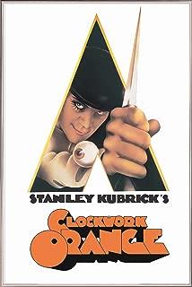 product image for Frame USA A Clockwork Orange - Knife Poster (Silver Metal Frame)(24x36)