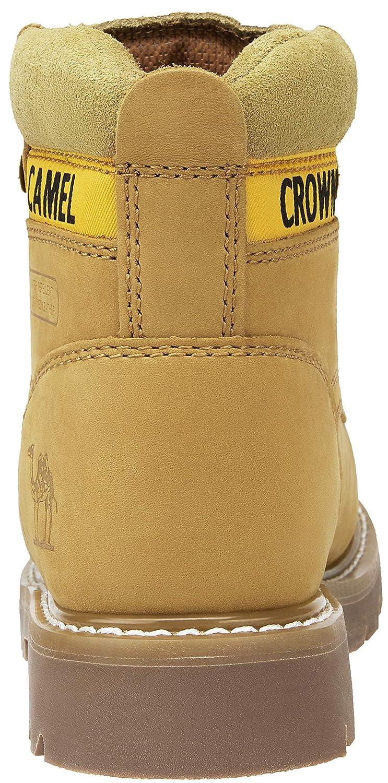 CAMEL CROWN SchnürStiefel Herren Leder Arbeitsschuhe Stiefel Schnürschuh Klassiker Stiefel Combat Stiefel Arbeitsschuhe 6aa97d