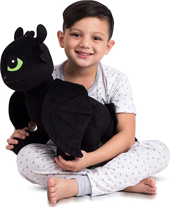 Franco Kids Bedding Super Soft Plush Snuggle Cuddle Pillow One Size How To Train Your Dragon Toothless Amazon Ca Home Kitchen