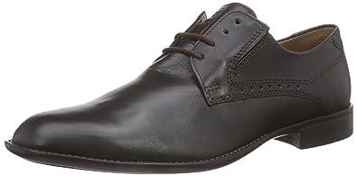 Fretz Men Boris - Zapatos con Cordones de Cuero Hombre, Color Marrón, Talla 48