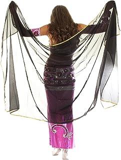 Turkish Emporium Striped Belly Dance Candy Cane Walking Saidi Stick