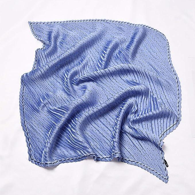 Beautiful Pleated Silk Scarfs For Women, 27 Colorful Choices, Fashion Bandana Headband Hair Scarf by Spoil Me
