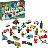 LEGO City Advent Calendar 60268 Playset, Includes 6 City Adventures TV Series Characters, Miniature Builds, City Play Mat, an