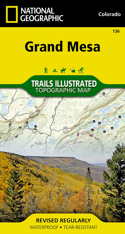 Grand Mesa (National Geographic Trails Illustrated Map) pdf epub