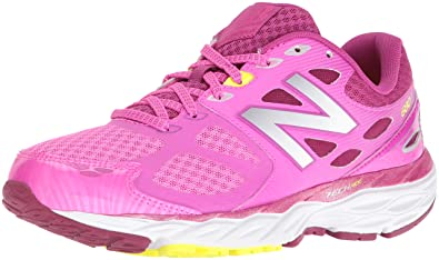 New Balance Women's 680V3 Running Shoes, Pink/Silver, ...