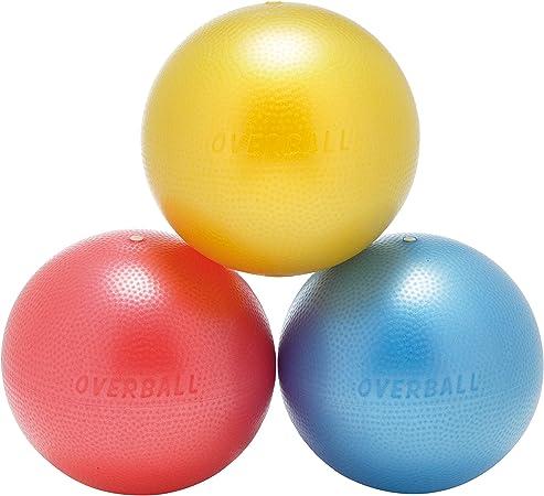 Pelota de ejercicios de 25 cm, azul, rojo, amarillo, para yoga ...