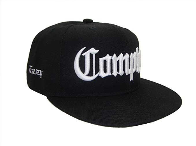 Image Unavailable. Image not available for. Color  THS Compton Eazy E Flat  Bill Snapback Flat Bill Cap ... df1257fd0a0a