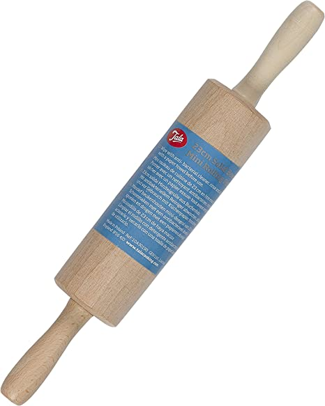 Pack of 2 Ideal for Children // Icing // Pasta 23cm Mini Rolling Pin