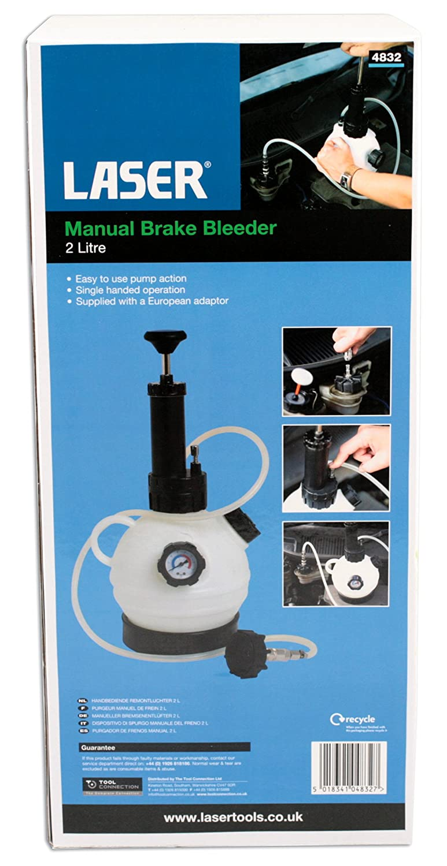 Laser 4832 Manueller Bremsenentl/üfter 2 Liter