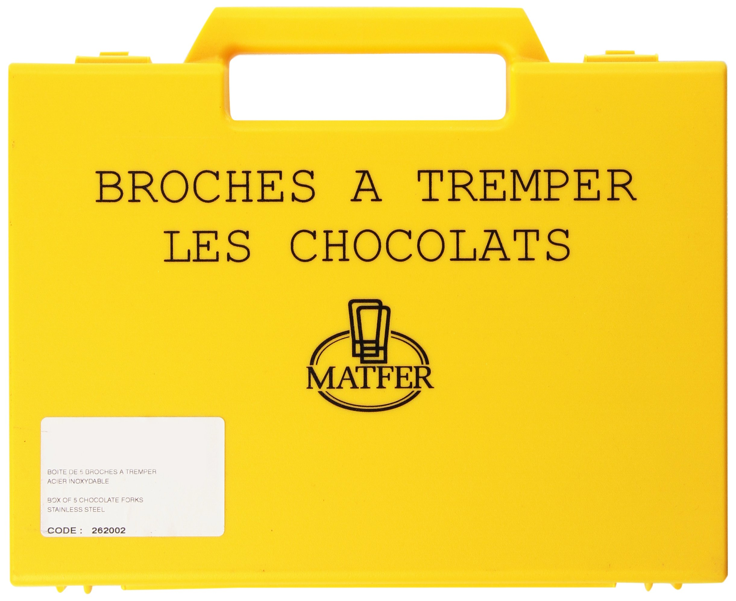 Matfer Bourgeat 262002 Set of Chocolate Forks