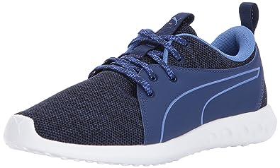 Puma Damen Basket Platform DE Sneaker, Blau (Blue Depths-Blue Depths), 42 EU