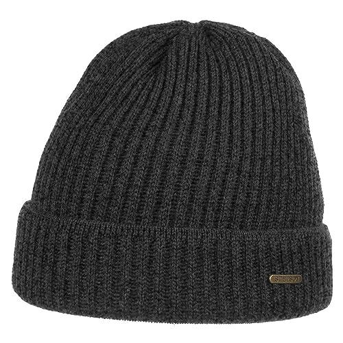 Berretto Parkman Stetson beanie a coste beanie con risvolto cappello invernale