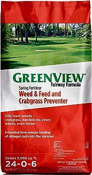 GreenView Weed and Feed Crabgrass Granular Weed Killer