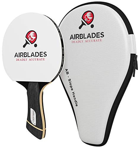 AirBlades 3 Star Professional Ping Pong Paddle for Beginner/Intermediate Players -Table Tennis Paddle