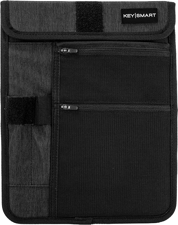 KeySmart Urban21 - Backpack & Bag Accessories (Pocket Organizer, Black)